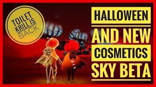 [SPOILERS] Halloween Cosmetics & Prices (Web/Bat-cape, Witch Hat, Pumpkinhead) | Sky: CotL Beta