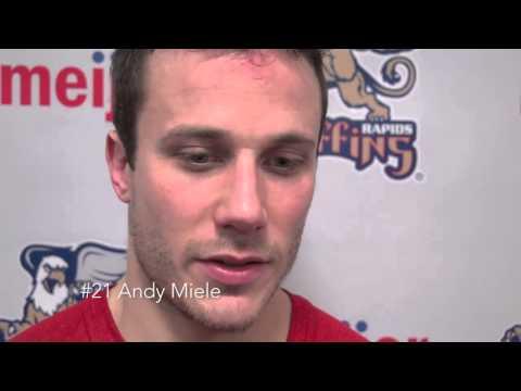 12-19-14 Grand Rapids Griffins vs. Toronto Marlies Post Game Highlights