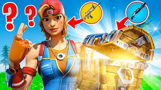 Fortnite but I have to GUESS the loot to use it...