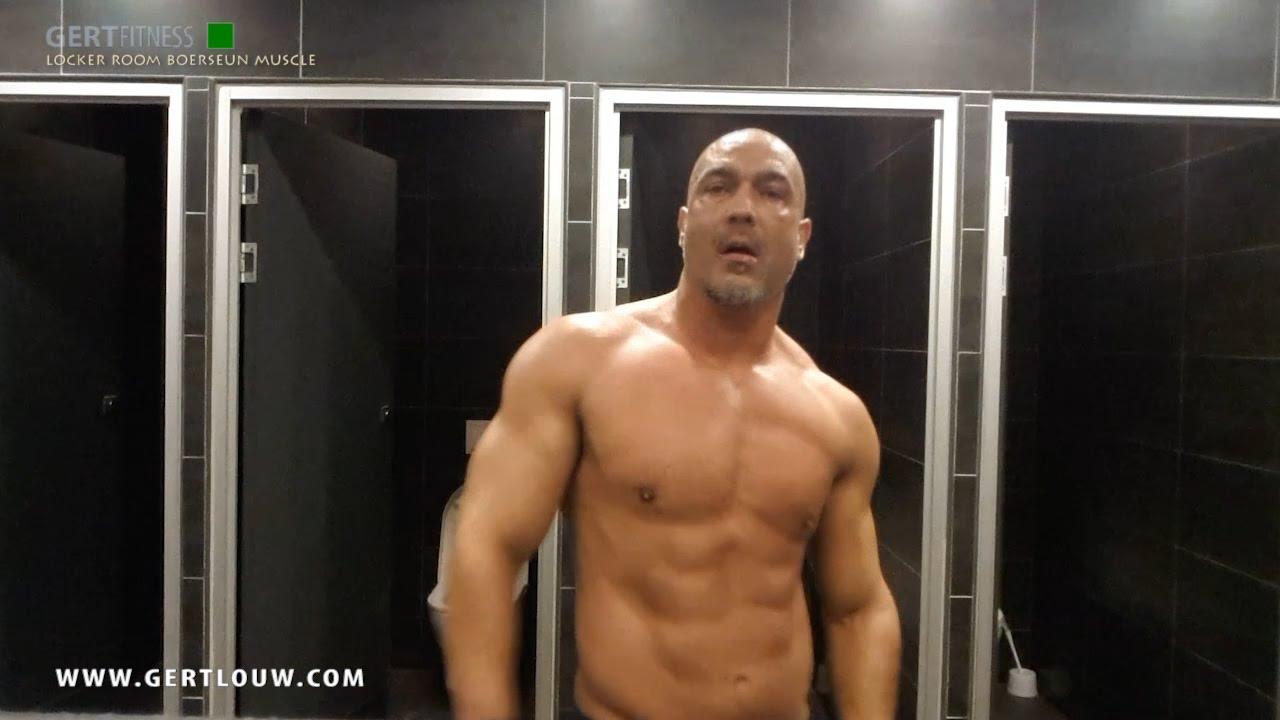 Locker room boerseun muscle youtube