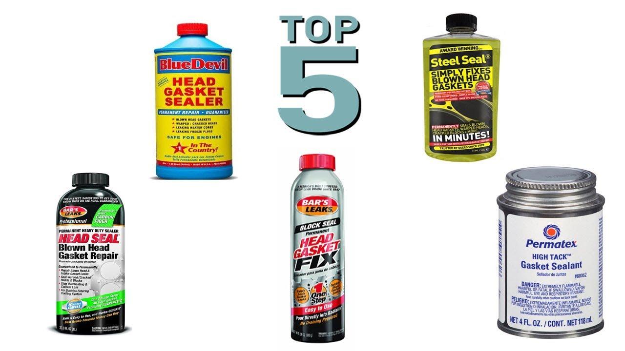 Top 5 Best Head Gasket Sealers 2018