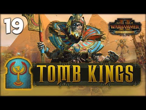 SETTRA'S SWARM! Total War: Warhammer 2 - Tomb Kings Campaign - Settra #19