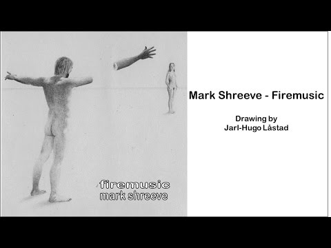 Mark Shreeve - Firemusic - Drawing by Jarl-Hugo Låstad