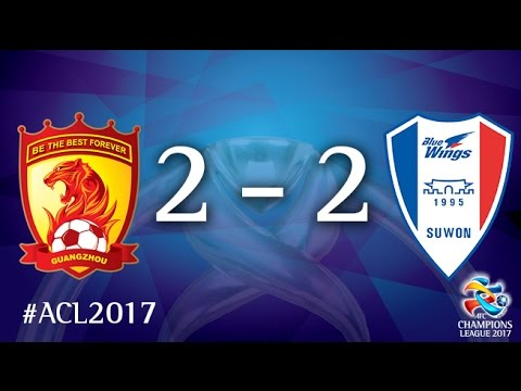 Guangzhou Evergrande vs Suwon Samsung Bluewings (AFC Champions League 2017: Group Stage – MD6)
