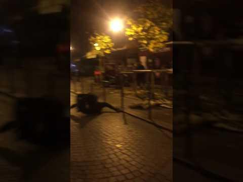 Bagarre à Châtelet Paris le 27/11/2016