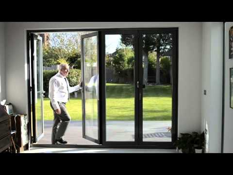 4 door Bi-Fold Door set - YouTube