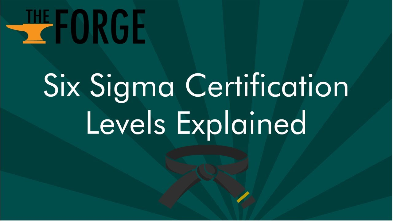 Six Sigma Belts Explained Youtube