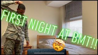 First Night at BMT! My Air Force Experience