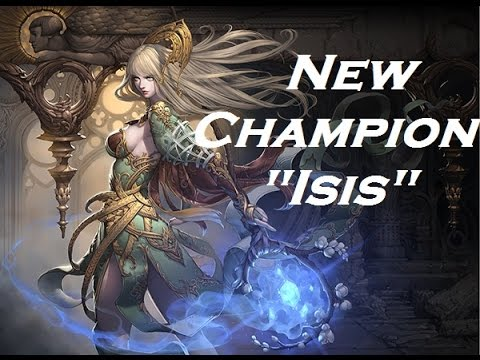 "Ace of Arenas - New Champion ""Aesis"""