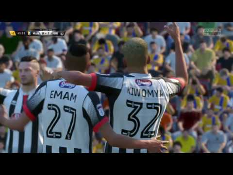 Fifa 17 - Grimsby Town Manager Mode Part 22 - Mansfield World Class