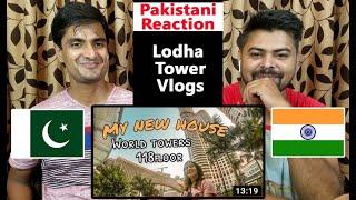MY FLAT TOUR IN ASIA'S TALLEST TOWER | WORLD ONE LODHA | Pakistani Reaction On Mumbai