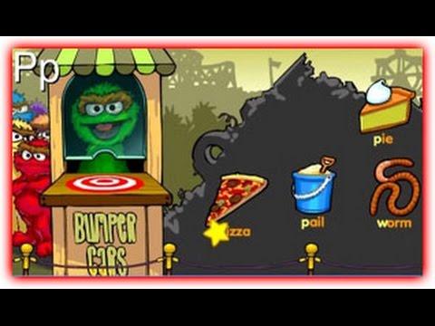 Bumper Cars Games Sesame Street