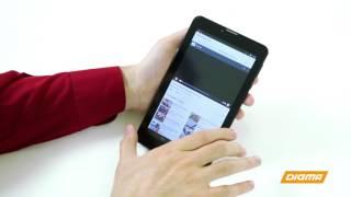 Распаковка Digma Optima 7.07 3G - функциональная и доступная по цене семерка!