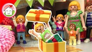 Playmobil Film deutsch - Überraschungsparty für Lena - Kinder Spielzeug Video Familie Hauser