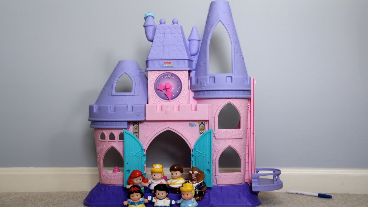fisher price little people disney princess song palace youtube