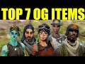 Fortnite Top 7 OG Skins TO BUY FROM THE ITEM SHOP (if They Ever Return)