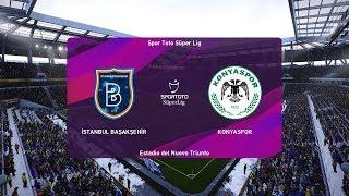 PES 2020   Basaksehir vs Konyaspor - Turkey Super Lig   16 December 2019   Full Gameplay HD