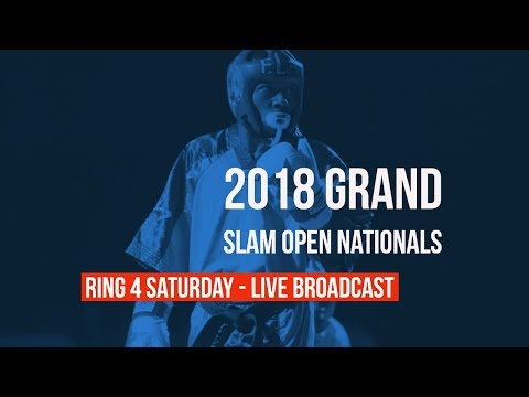 Ring 4 Saturday Live Broadcast | 2018 Grand Slam Open Nationals | 18+ Men Forms/Weapons/Spar