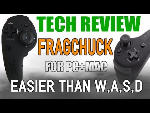 [Hand Cam Review]Splitfish FragFX Fragchuck For PC+MAC -Hybrid Controller/Mouse Combo