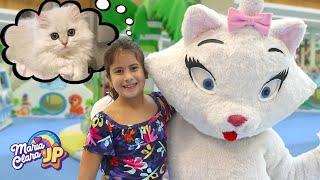 MARIA CLARA E JP GANHAM UM GATINHO DE VERDADE 🐱 Maria Clara and JP won a kitten