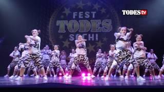 TODES FEST Сочи 2016. Dance Battle Взрослые