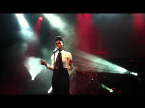 Janelle Monae - Oh, Maker - live in Dublin 1/12/2010