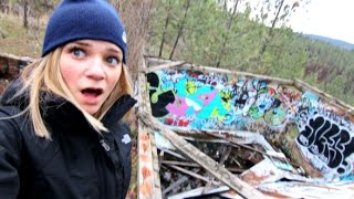 Crazy Abandoned Thing On Our Hike!!