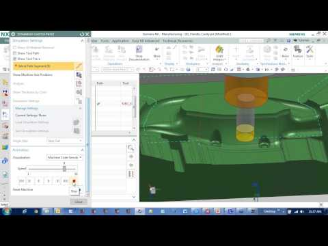 how to make a threaded hole in nx