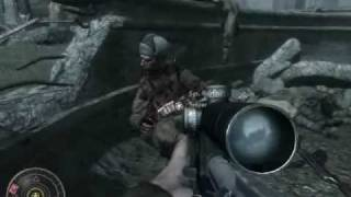 "Call of Duty 5 (World at War) Mission 4 ""Vendetta"" Part 1of2"