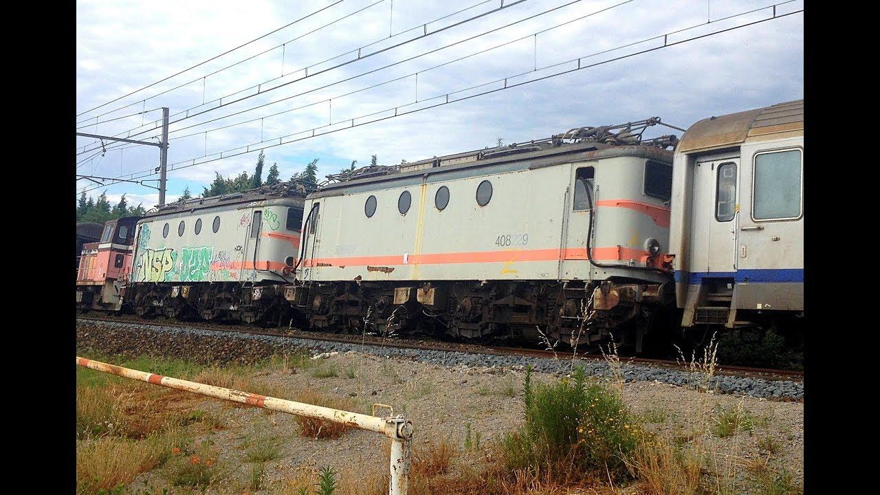 Train De Materiel Radi 233 Mauzin Et Autres Sur La Plm