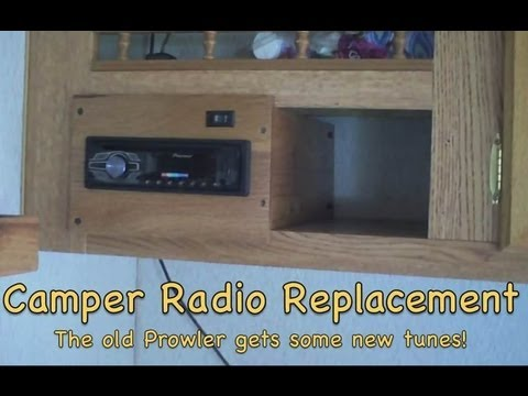 Prowler Camper Radio Replacement Youtube