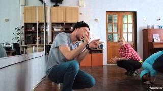 Танцевальный мастер-класс в школе-интернате Владивостока
