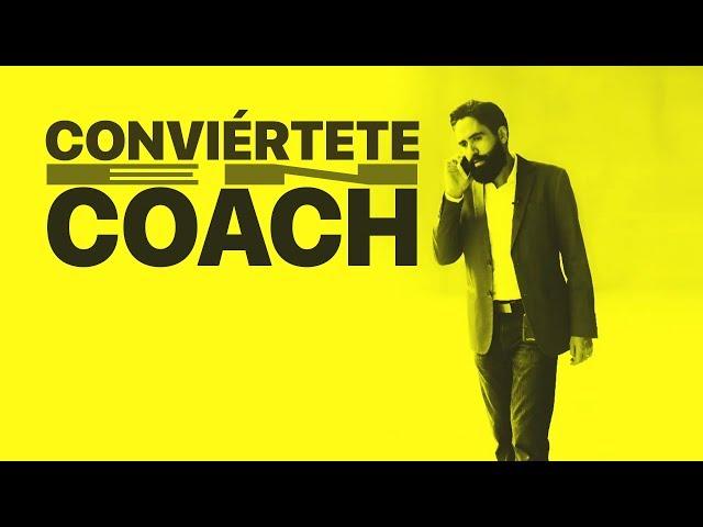 Conviértete en coach // Carlos Muñoz