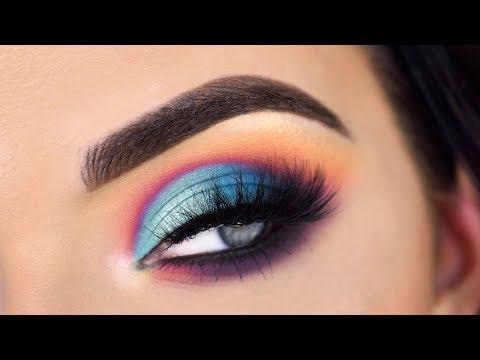 Violet Voss Sugar Crystals Palette   Colorful Eye Makeup Tutorial
