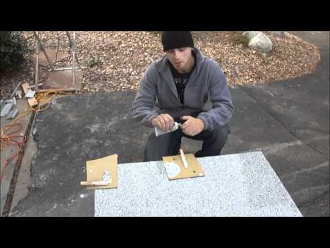 Epoxy Lazy Granite Tile for Kitchen Countertops