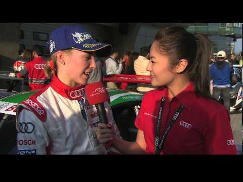 Audi R8 LMS Cup 2013 in Shanghai - Highlights