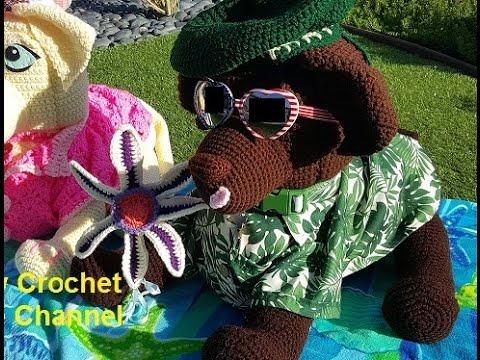 Amigurumi Little Dog Crochet Free Patterns - Crochet & Knitting | 360x480