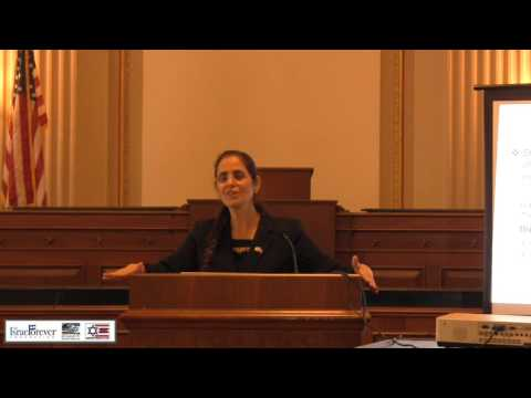 """The Smarter Bomb: Women & Children as Suicide Bombers"" Featuring Israeli MK Dr. Anat Berko"