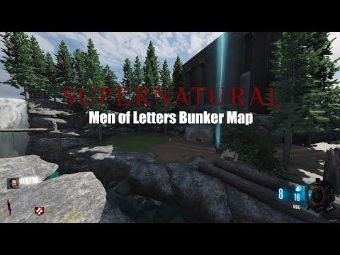 Call of Duty Bo3 : Supernatural - Men of Letters Bunker Map