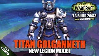 Titan Golganneth new model | World of Warcraft Legion