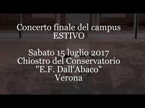 2017 Estivo European Chamber Music Summer School - part 1