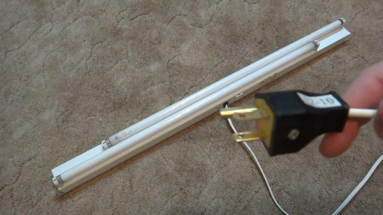 High Q Lighting 2 30watt Fluorescent Light Fixture