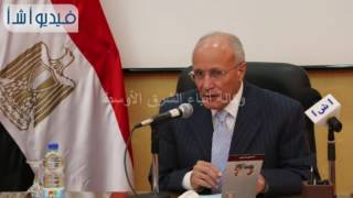 وزير الإنتاج الحربى :هناك تعاون مشترك بين البحث العلمى و الوزارة للنهوض بالصناعة