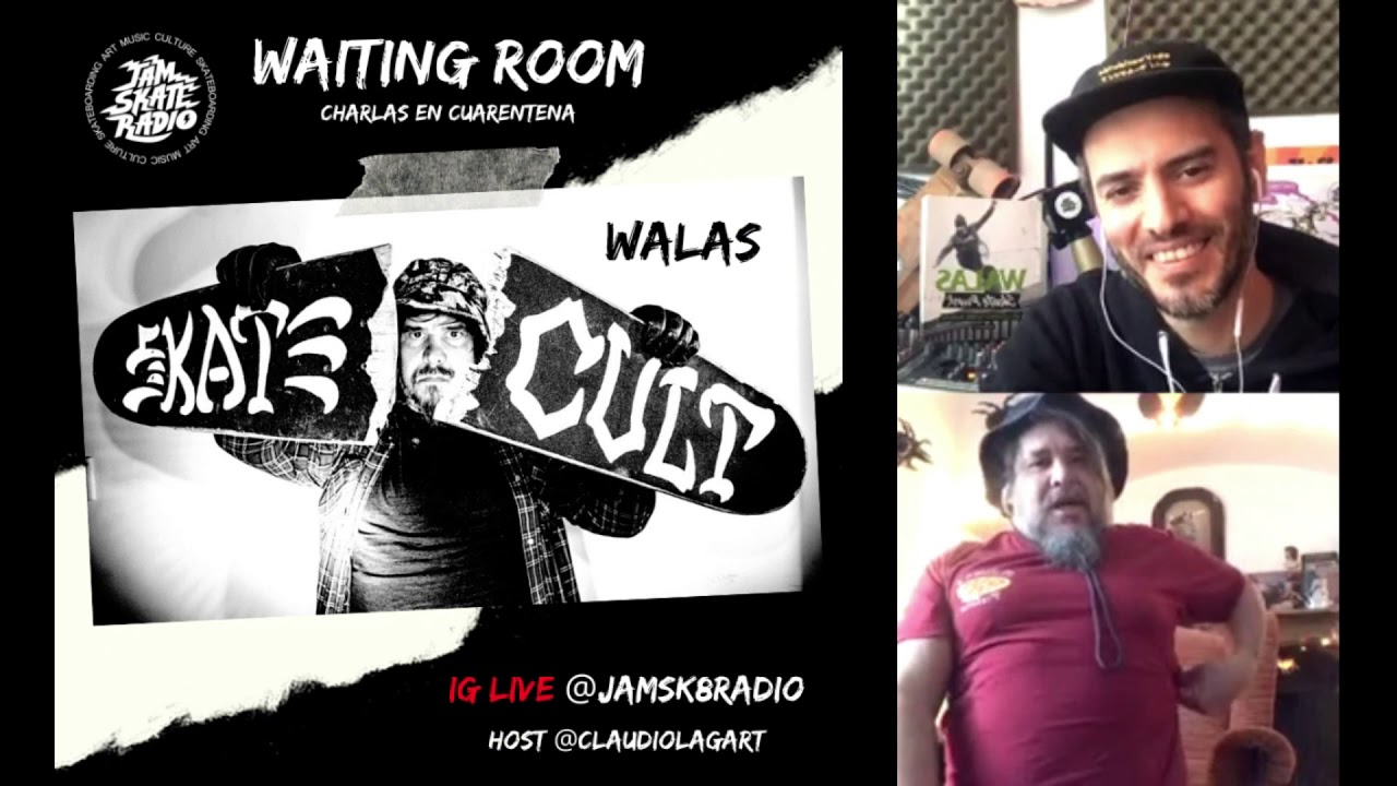 WALAS MASSACRE - WAITING ROOM - CHARLAS EN CUARENTENA #4