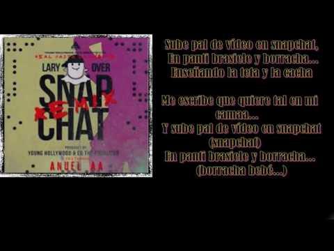 Anuel aa ft Lary Over -SnapchatRemix Letra