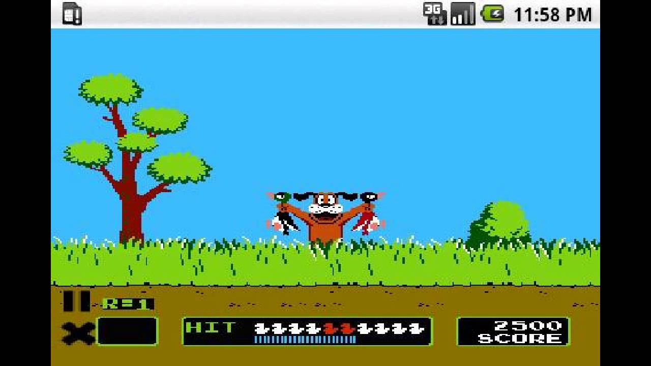 Get Duck Hunt for Android Phone or Tablet - Free Download of NES Game