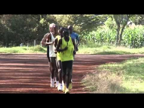 Running with Kenyans - Work in Progress