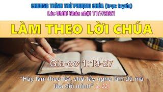 HTTL THÀNH LỢI - Chương trình thờ phượng Chúa - 11/07/2021