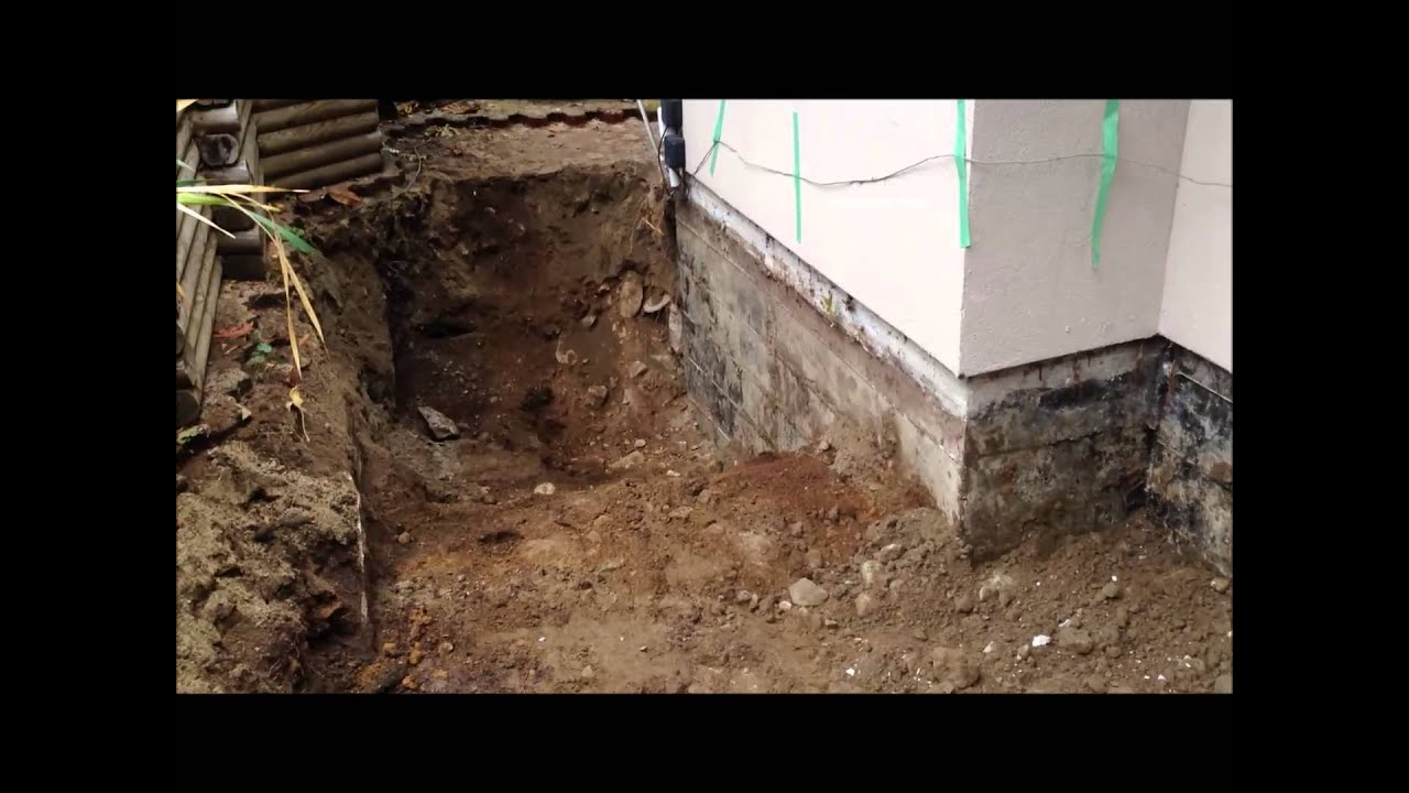 House Foundation Repair Part 2 Excavation Youtube