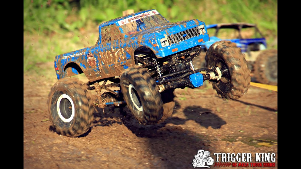 R/C Mega Truck Mud Racing Highlights from 2014 - YouTube